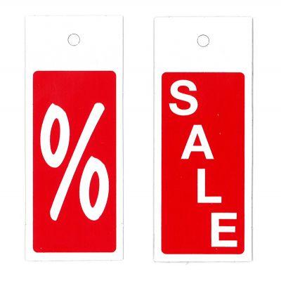Aktions-Bügelhänger % oder Sale