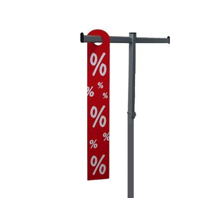 PVC-Aktionshänger 10 x 68 cm