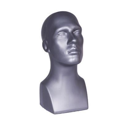 Herren Dekokopf grau
