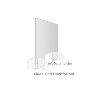 Hygiene-Schutzwand 900x600 mm
