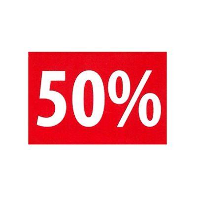 Rahmenschilder 50%
