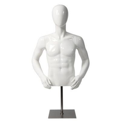 Herrenbüste weiß oder schwarz