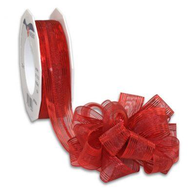 Schleifenband zum Ziehen Rot