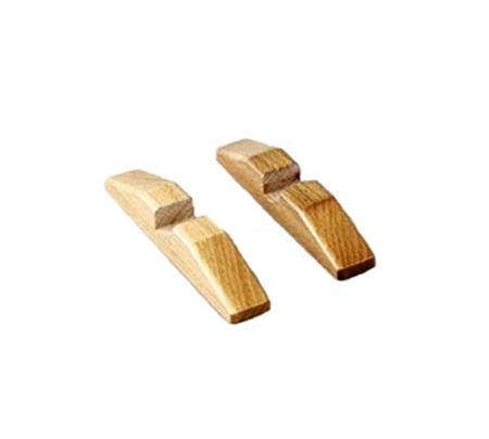 Holzfuß Paar für Woodline-Rahmen